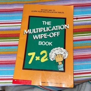 Other - The multiplication wipe-off book